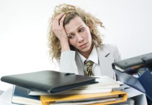 Laserfiche reduces stress